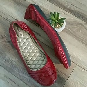 ME TOO Fiona2 PATENT LEATHER FLATS New